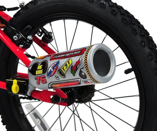 Fahrrad Auspuff